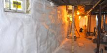 A+ Insulation Foam, Basement encapsulation, MA